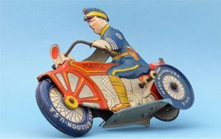 Spielzeugmotorrad